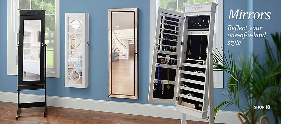 Mirrors - Reflect your one-of-a-kind style