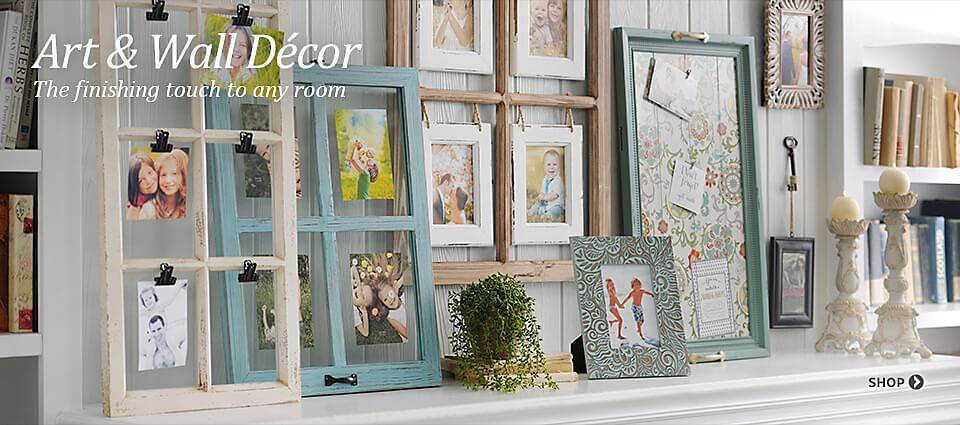 Art & Wall Decor - The finishing touch to any room!
