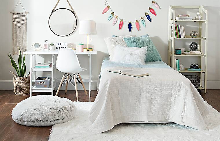 Back to Campus. Go back to school with Kirkland's dormroom decor.