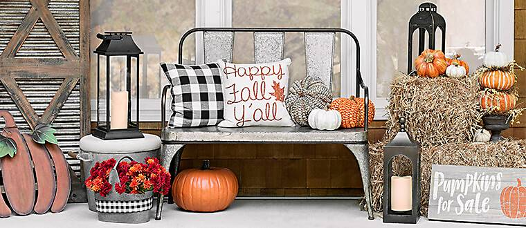 all harvest decor - Fall Home Decor
