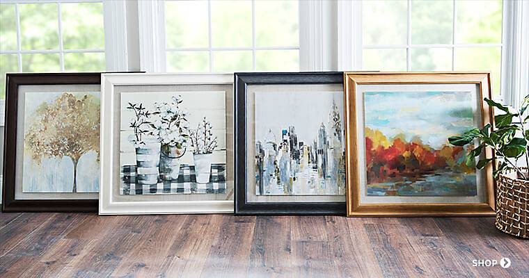 Art & Wall Decor - The finishing touch to any room.