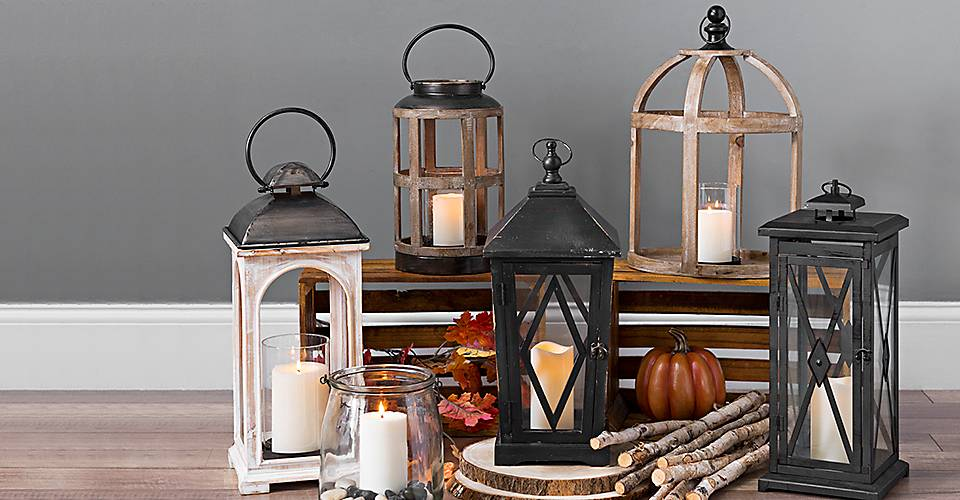 A large selection of lights from which to choose.