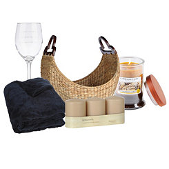 Spa Night Gift Basket
