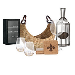 Wine Lover's Gift Basket