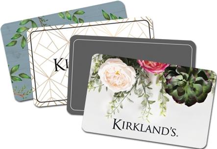 Kirkland's gift cards arrives in minutes!