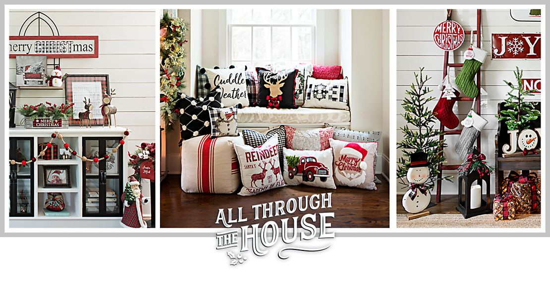 all through the house - Coastal Christmas Decorations For Sale