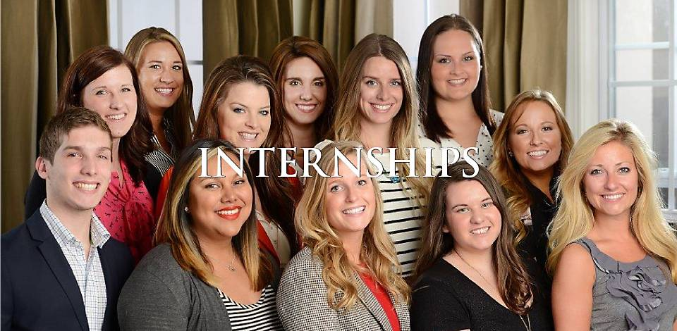 Internships - Immerse yourself in the real world.