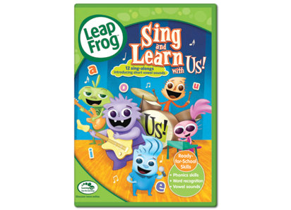Sing and Learn with Us! DVD