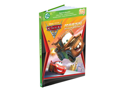 Tag™ Book: Disney•Pixar Cars 2 - French Version