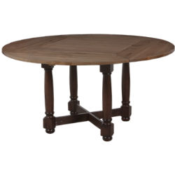 LORTS   1173 Square To Round Tabletop | 1140b Table Base