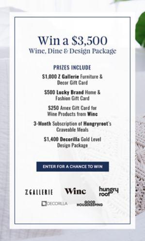 Wine, Dine & Design