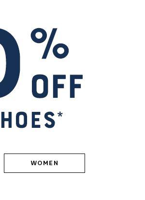 30% Off Women's Shoes