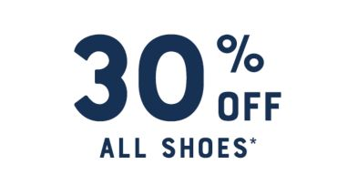 30% Off All Shoes