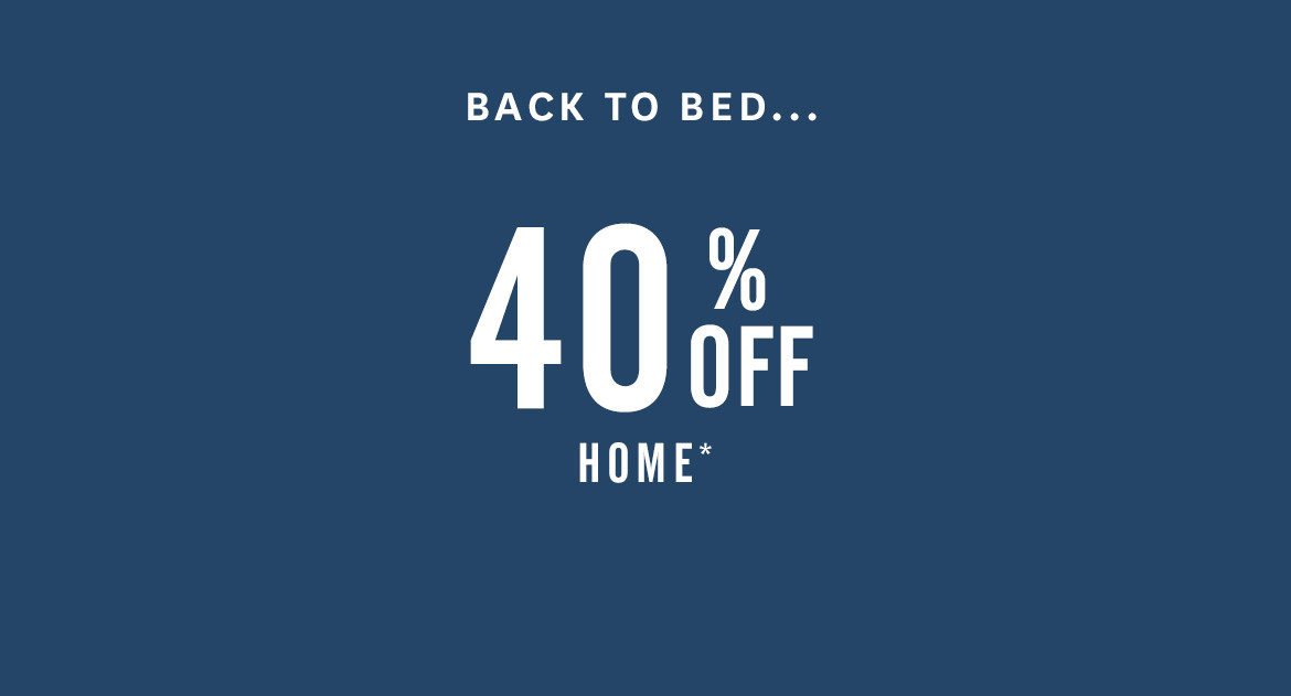 40% Off Home