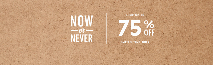 Shop Up To 75% Off