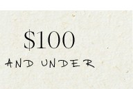 $100 and Under