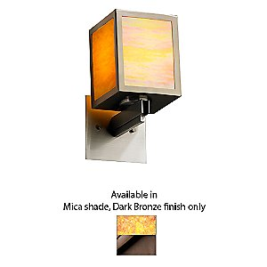Simple Windows Small Wall Sconce by Justice Design Group - OPEN BOX RETURN