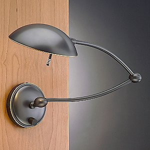Halogen Wall Sconce No. 523/1 with Swing Arm by Holtkoetter