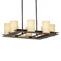 Ingo Square Suspension by Forecast Lighting