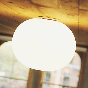 Glo-Ball Flushmount by Flos
