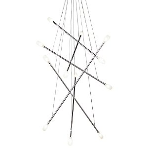 Batons Chandelier by LBL Lighting