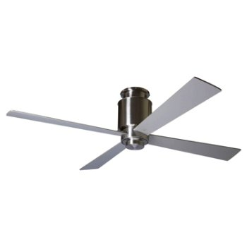 Lapa Hugger Ceiling Fan with Optional Light