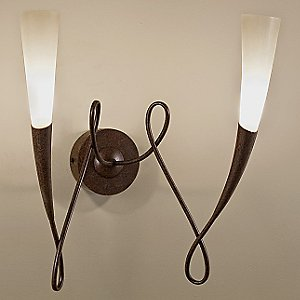 Virgins Double Wall Sconce by Terzani USA