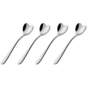 Love Mocha Spoons (set of four) by Alessi