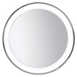 Tigris Recessed Round Mirror by Tech Lighting