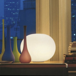 Glo-Ball Basic 2 Table Lamp by Flos