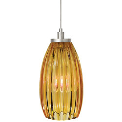 Flute Pendant by LBL Lighting