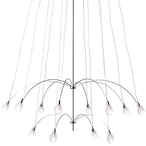 Twilight 12 Chandelier by LBL Lighting