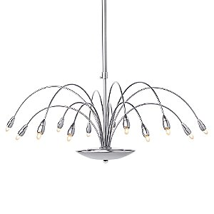 Zen 12 Chandelier by LBL Lighting