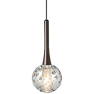 Crystal Ball Pendant by LBL Lighting