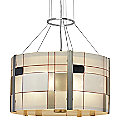 Appliquations Mondrian Drum Pendant by Oggetti Luce