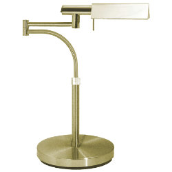 Tent Swing Arm Table Lamp by Sonneman
