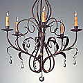 Eden Chandelier by Currey and Company