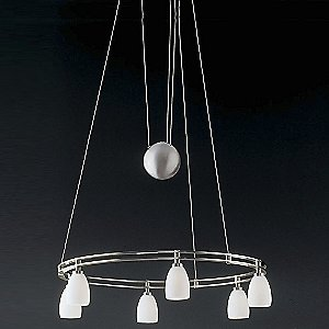 Low Voltage Halogen Chandelier No. 5556/6 by Holtkoetter