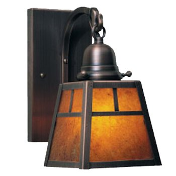A-Line Outdoor Wall Sconce with T- Bar