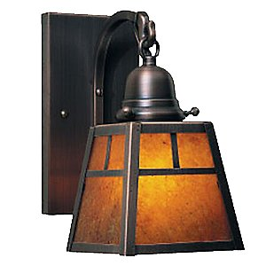 A-Line Outdoor Wall Sconce with T- Bar by Arroyo Craftsman