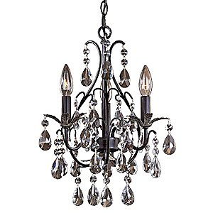 Castlewood Crystal Mini-Chandelier by Minka-Lavery