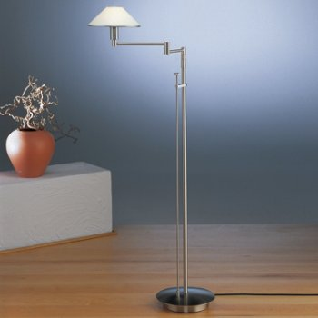 Lighting for the Aging Eye Swing Arm Floor Lamp