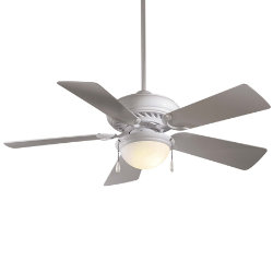 Supra 44 Ceiling Fan with Light by Minka Aire
