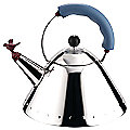 Kettle with Bird Whistle by Alessi