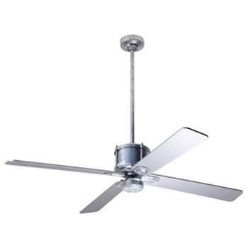 Industry Ceiling Fan with Optional Light