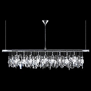 Broadway Linear Crystal Chandelier by James R. Moder