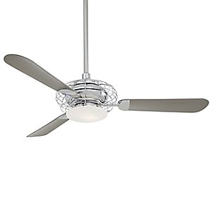 Acero Ceiling Fan with Light by Minka Aire
