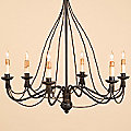 Trademark Chandelier by Currey and Company