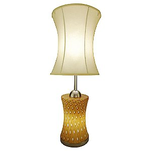 Aptos Hourglass Table Lamp by Union Street Glass