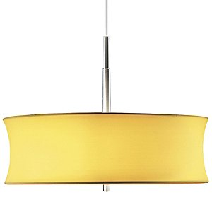 Lightweights Large Round Pendant by Sonneman